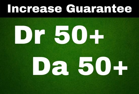 I will increase domain rating DR ahrefs domain authority da