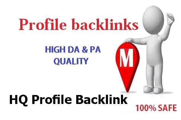 I will create 230 High Quality Profile backlinks with high DA and PA