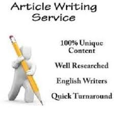 Quality article writer at an affordable price.