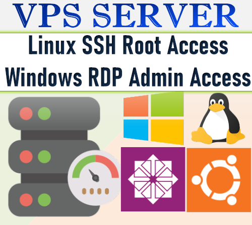 Dedicated Windows Vps Server With RDP 1 Year