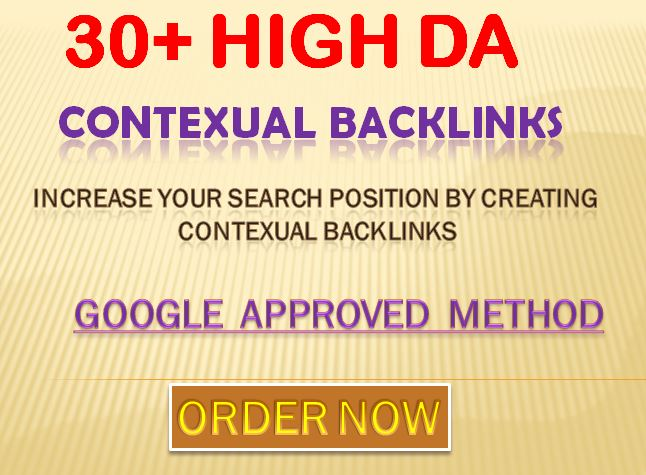 Providing 30 Manually web 2.0 High Quality Contextual Backlinks