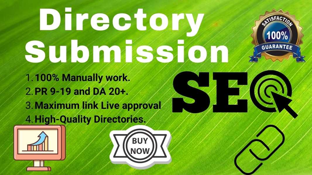 I will do 75 Manually High Quality Directory Submission