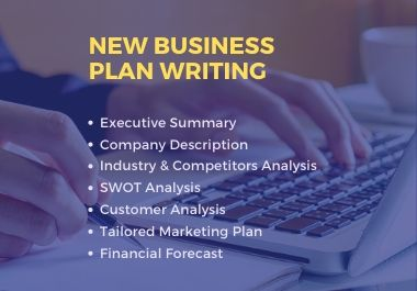 I will write a unique business plan