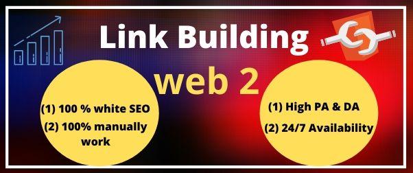 I will do 10 high quality web 2. 0 backlinks for your website