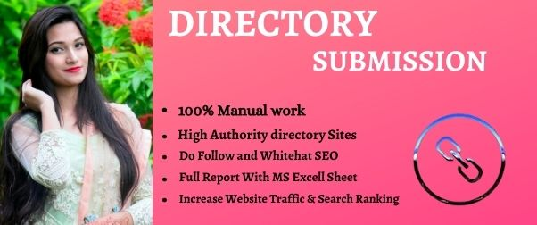 I will manually create high authority do-follow 50 web directory submission