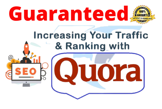 Promote your website 15 HQ Quora Answer for targeted traffic