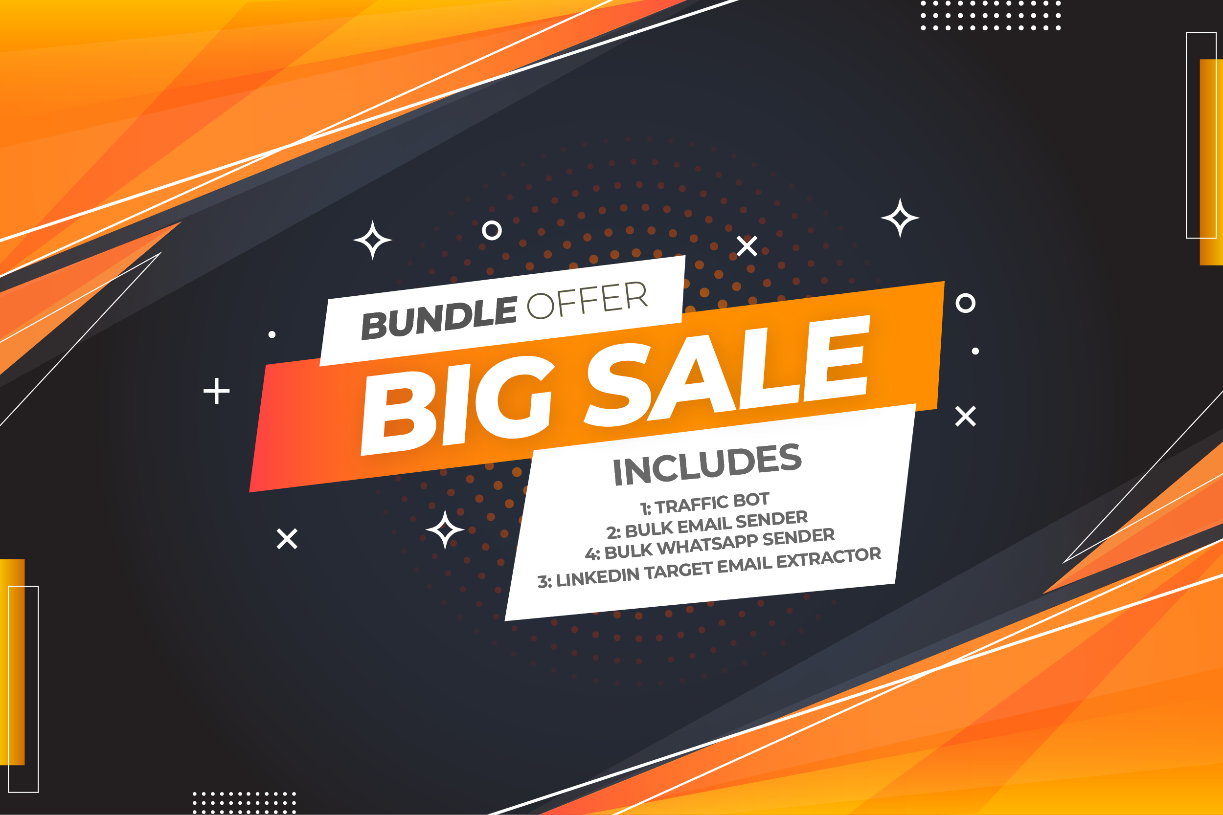 4 Softwares Bundle Offer Limited Time