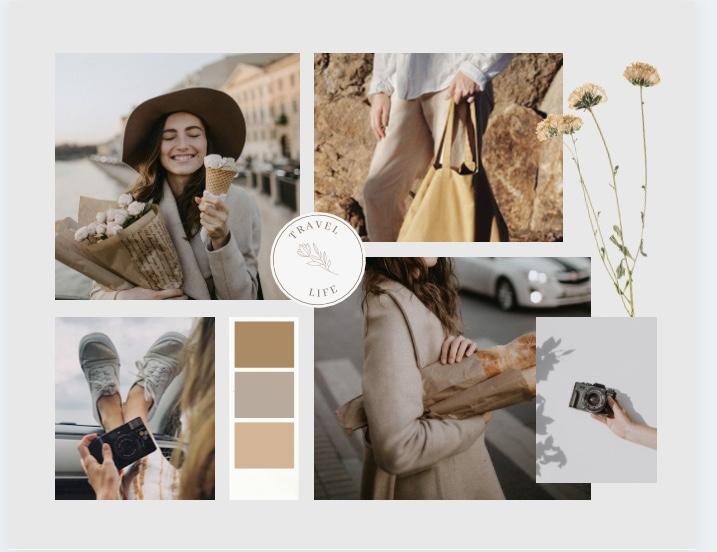 I will make amazing aesthetics photo collages