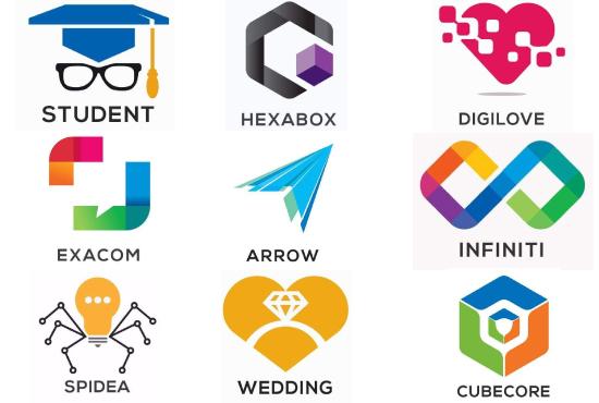 2 versatile creative business logo for 5 Dollar