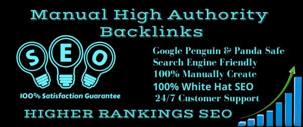 Certified freelancer SEO & Link building 100 Powerful High Authority Do-follow Backlinks.