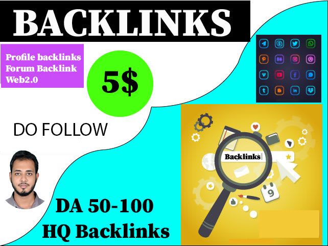 I will Provide 250 High Quality DoFollow SEO Profile Backlinks