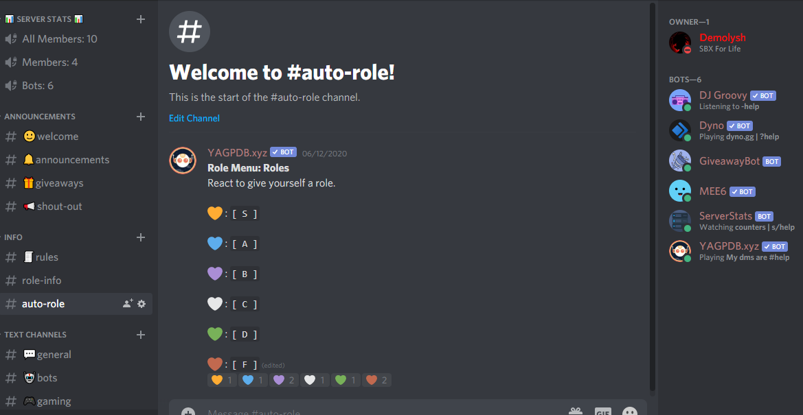 I will make you perfect discord server for your community
