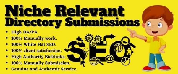 Create 30 Niche Relevant Directory Submissions