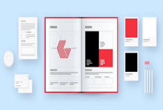 create full brand guide from logo to everything