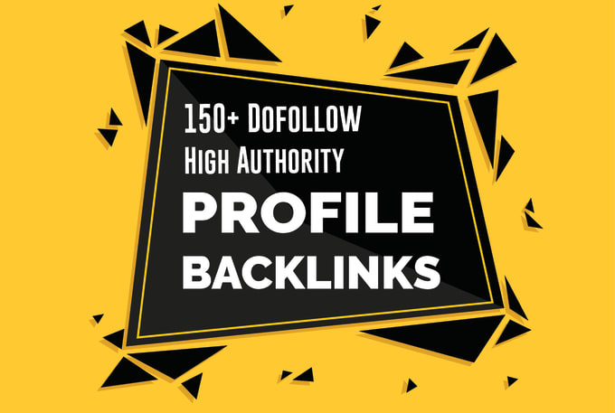 I will do 150 high da dofollow pr9 forum profile,  SEO backlinks