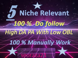 we will make 5 Niche Relevant Blog Comments Do-follow pages