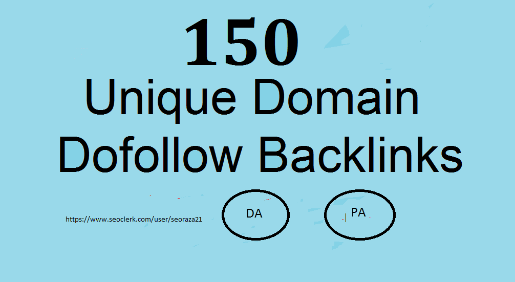 150 Manual Unique Domain Blog Comment With Da 20plus