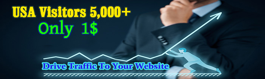 WEB TRAFFIC 5,000+ HQ USA Traffic Visitors Worldwide to Your Website