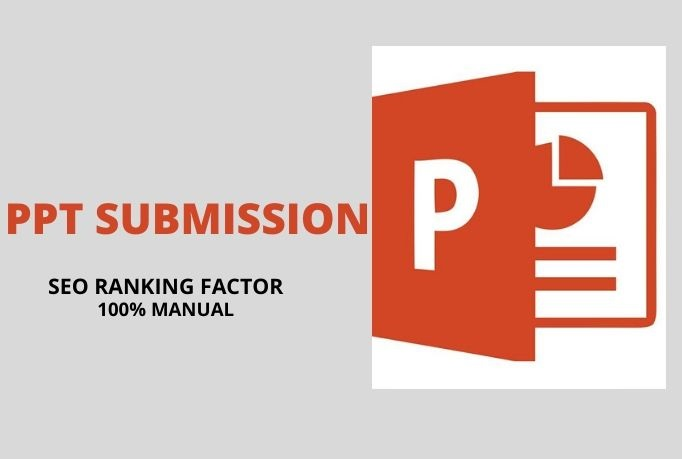 I will create 6 slides or submit your PPT 15 sharing site