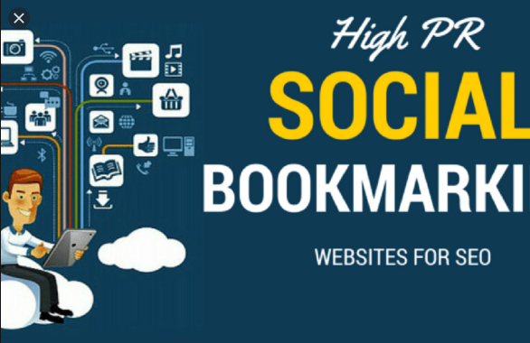 I will do 50 social bookmarking on high da and PR sites manually