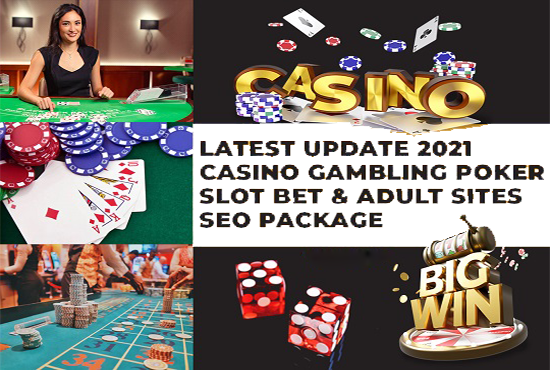 LATEST UPDATE 2021 Casino Gambling Poker Slot Betting And Adult Sites 1000 SEO Backlinks Package