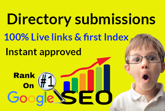 I will Create 50 Dofollow High domain authority directory submissions for Rank Website
