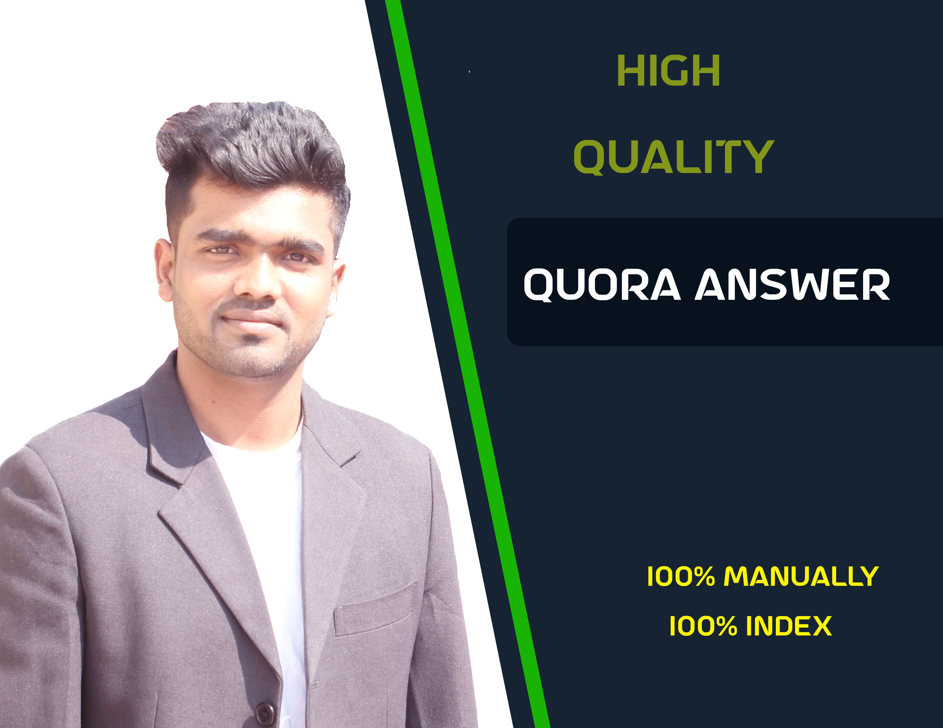 I Will Create 100 Quora Unique Answer with Get Targeted Traffic