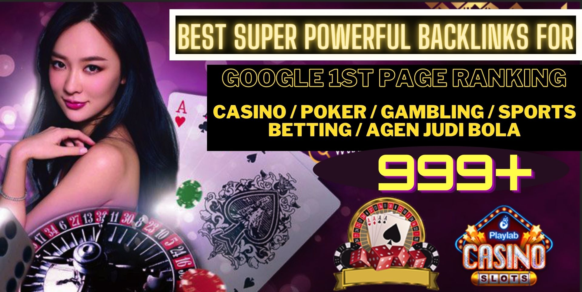 I WILL DO 999 CASINO/POKER/Gambling/Sports Betting/judi bola Pbn Backlinks on high authority sites