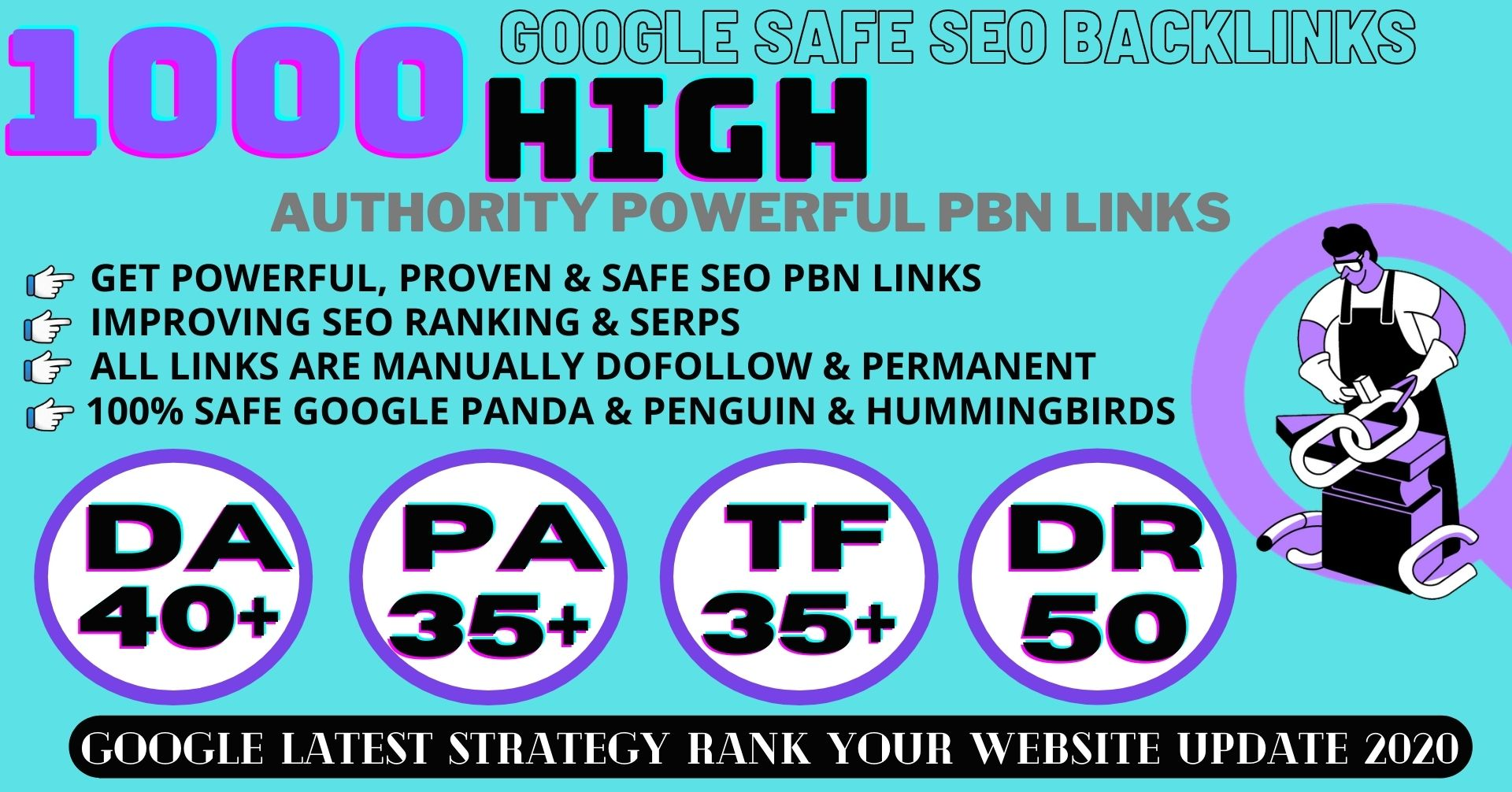 1000+ Permanent PBN Backlinks Web2.0 With High DA 40+ PA35+ Do-follow Links Homepage Unique website