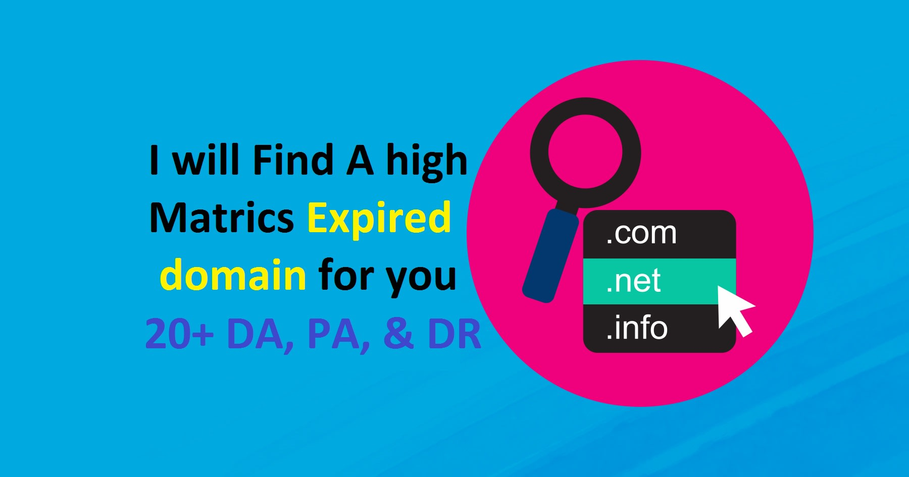 I will do expired domain research for you with high metrics