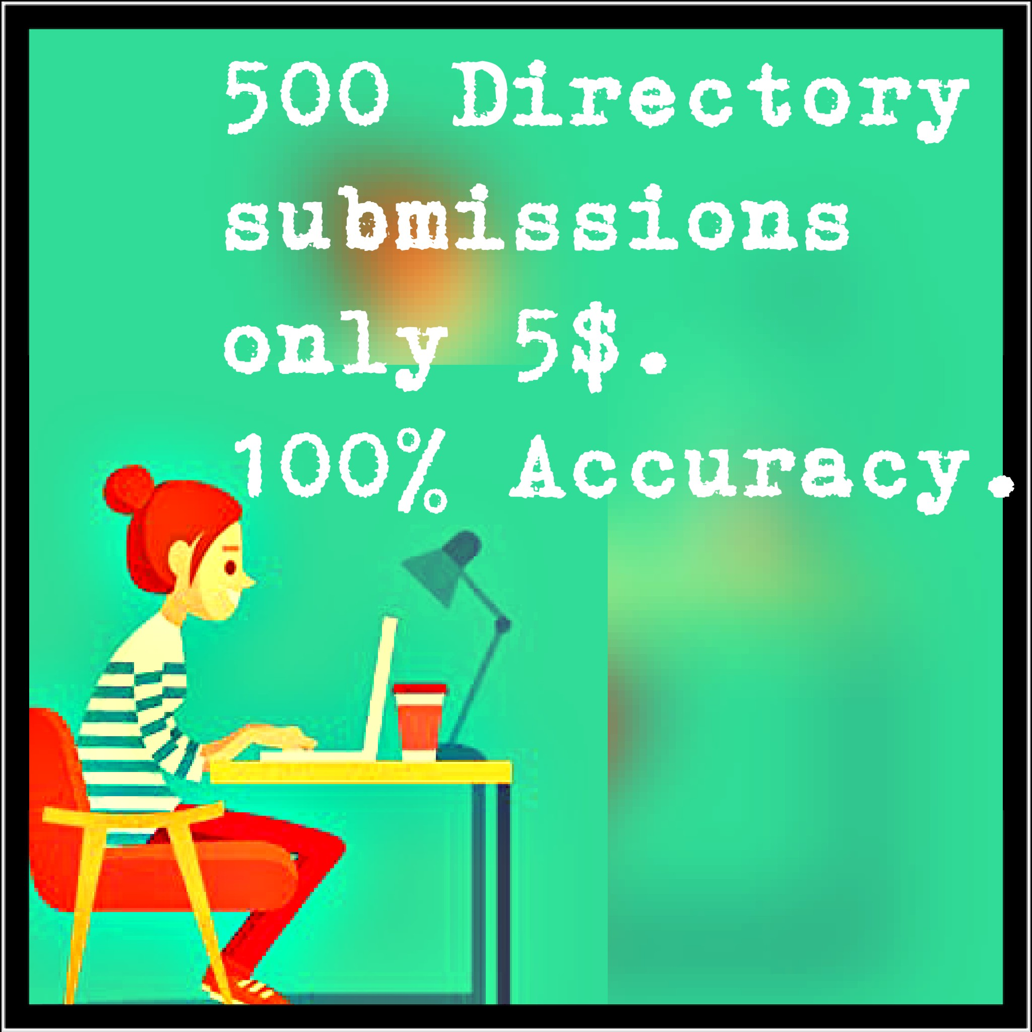 I will do 500 Best manual Directory submissions.