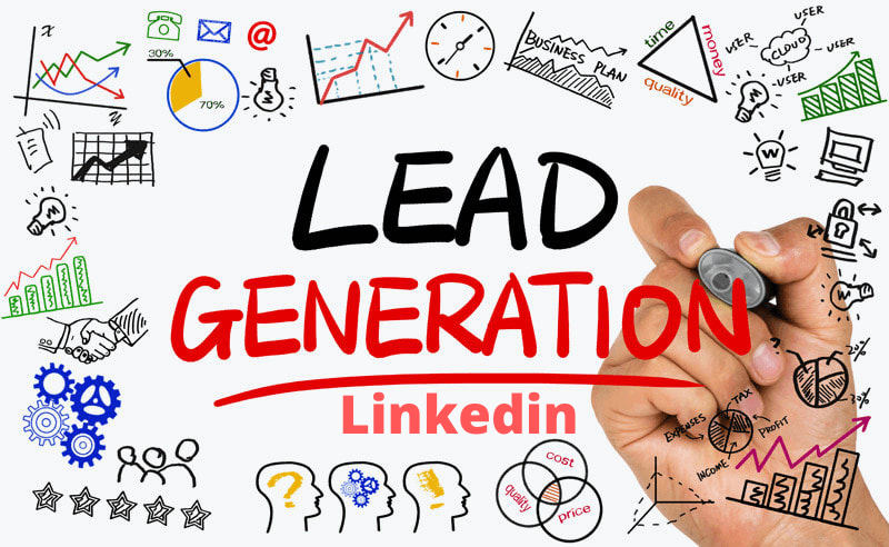 I will lead generation of business email by linkedin