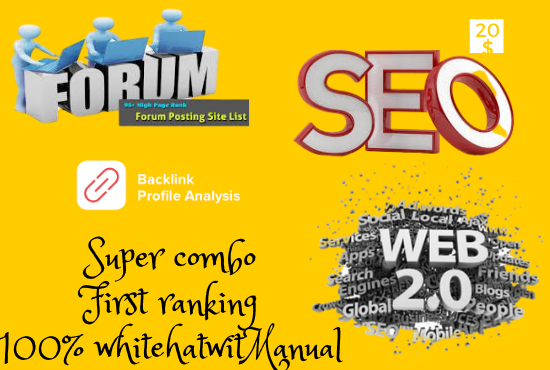 I will Do three type of premium SEO backlinks That rank your website fast