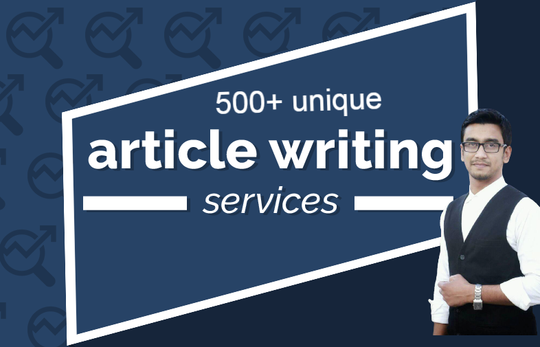 I will write 500+ unique SEO article