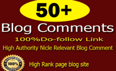 150 Niche relevant Do-follow High Quality Blog comments Backlinks