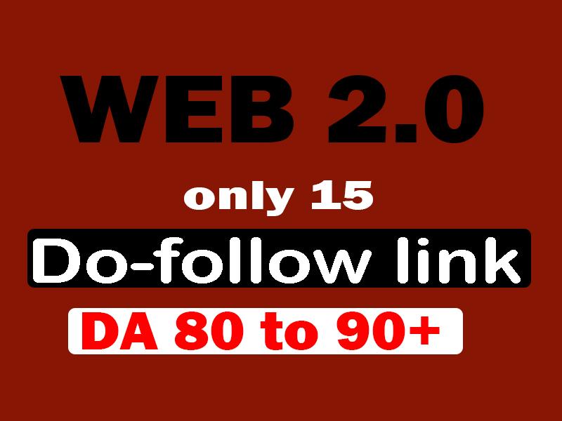make high authority web 2.0 dofollow backlinks
