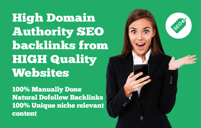 Rank on google by high quality SEO backlinks