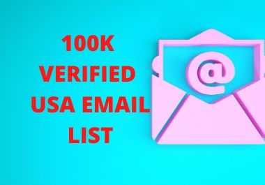 100k verified usa email list for email marketing
