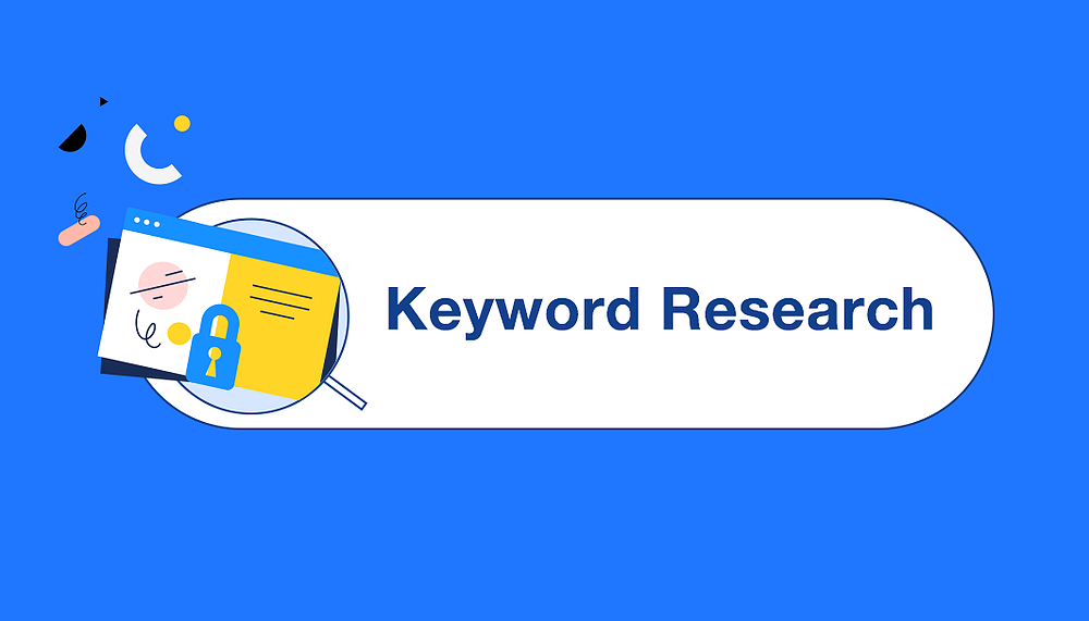 do SEO keyword R esearch and competitor analysis