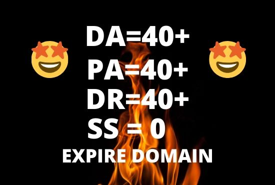 Find Expired Domain with high metrics