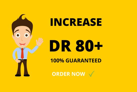 increase ahrefs DR upto 100 guaranteed