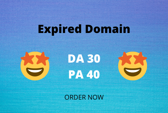 find eye catchy expired domain in 12 hours
