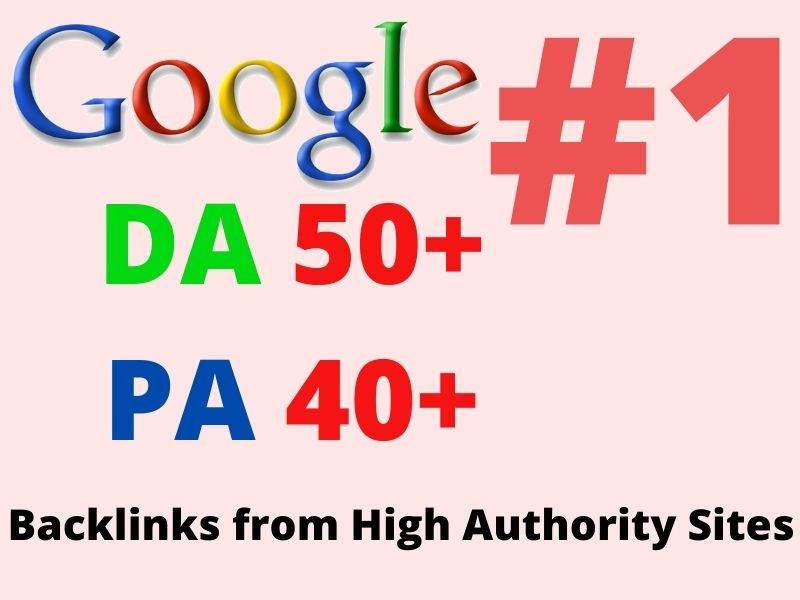 100+PBN Web 2.0 WhaiteHat Dofollow Backlink with High DA/PA Google homepage with unique website