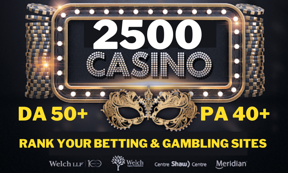 Rank your gambling casino slot betting site with high authority pbn link