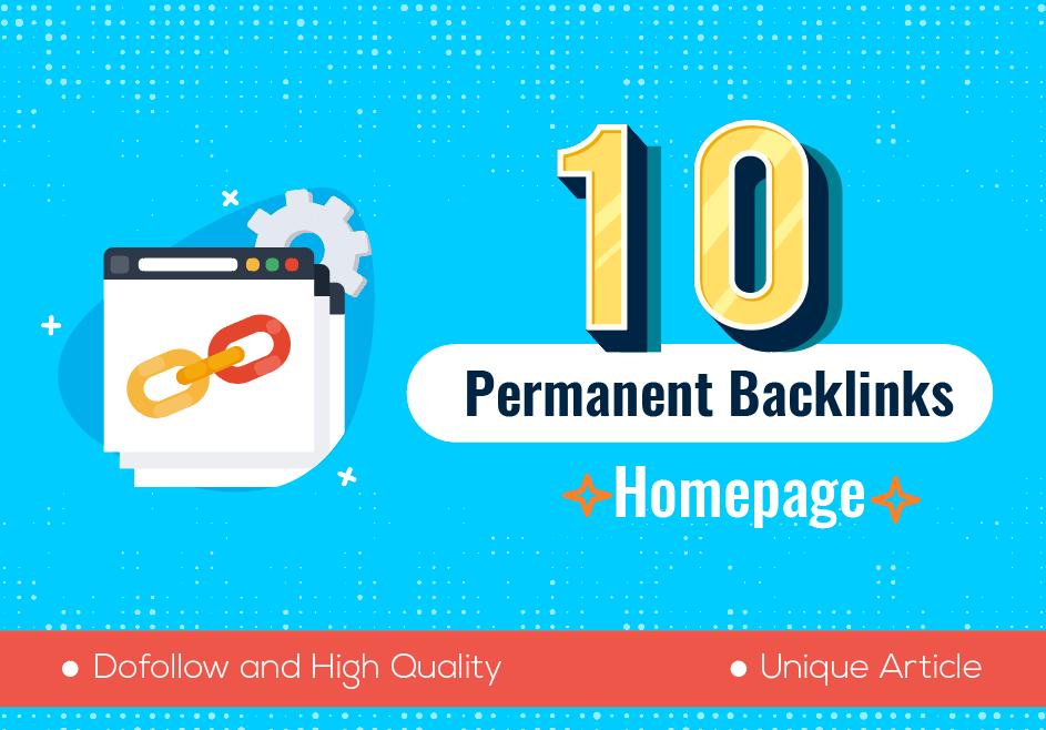 10 Permanent PBN High Metrics Contextual Backlinks for 1st Ranking