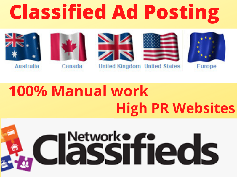 I will post your Classified ads site to get more customers.