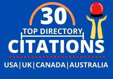 I Will Create Niche Relevant 50 Directory Submission