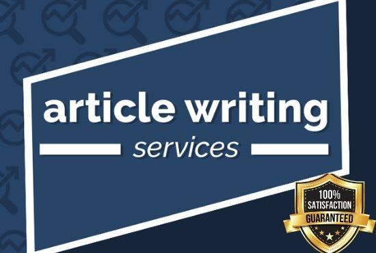 500 words Unique SEO Optimized Article Writing Service