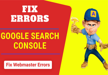 I will fix all issues of google search console webmaster tools