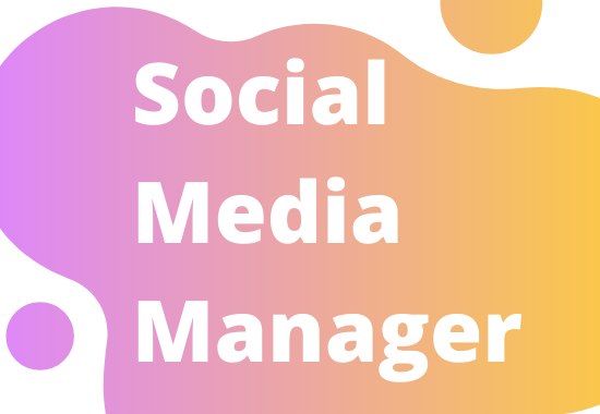 Social Media Manager and Personal Assistant for 3 Days